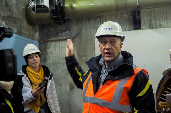 Jean-Michel Coll, chef d'agence Suez de Font-Romeu