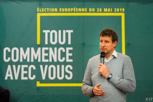 Yannick Jadot - Tête de liste aux européénes à Perpignan à l'invitation d'Agnés Langevine-6