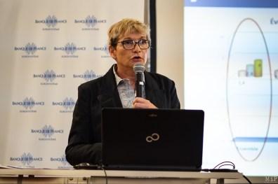 Aurore Markiewicz, directrice Départementale de la Banque de France des Pyrénées-Orientales