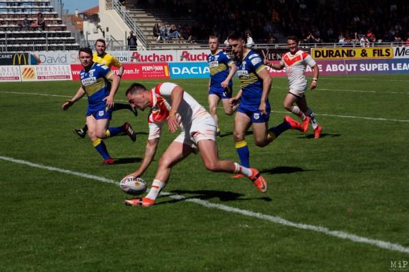 Dragons Catalans vs Doncaster Challenge Cup Round 6 Perpignan Mai 2019