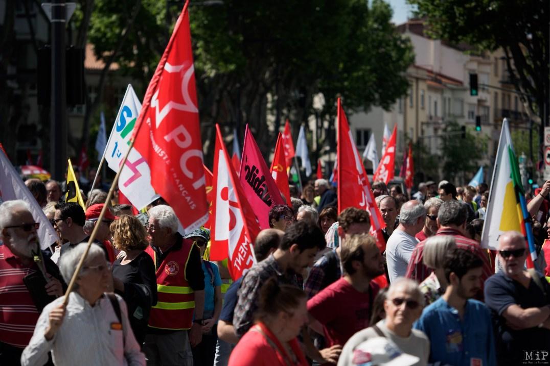 Défilé 1er Mai 2019 Perpignan Gilets Jaunes Syndicats grève 5 décembre manifestation