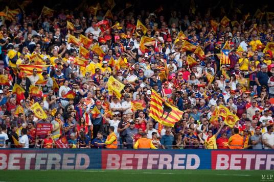Dragons Catalans Perpignan vs Wigan Warriors Camp Nou Mai 2019