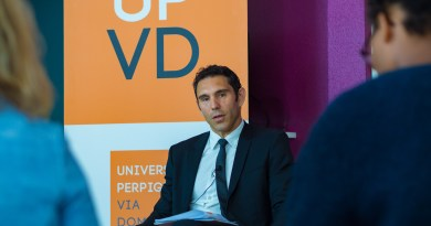 Clap de fin pour Fabrice Lorente à l'Université de Perpignan et à sa Fondation
