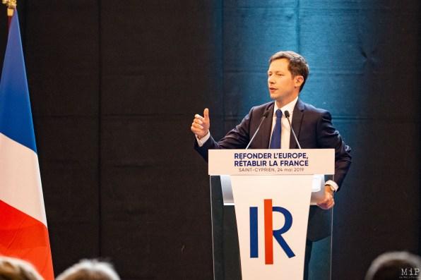 François-Xavier Bellamy et Laurent Wauquiez à Saint-Cyprien - Dernier meeting de la campagne des Européénnes-17