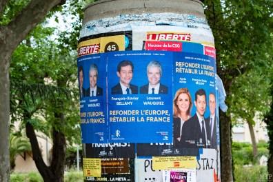 François-Xavier Bellamy et Laurent Wauquiez à Saint-Cyprien - Dernier meeting de la campagne des Européénnes-24