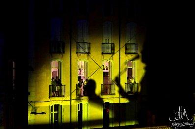 L'ombre Joan Baez plane pour un moment sur le Campo Santo