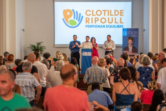Clotilde Ripoull - 1er meeting pour les elections municipales de 2020-10