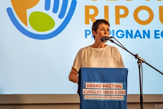 Clotilde Ripoull - 1er meeting pour les elections municipales de 2020-5