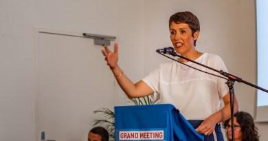 Municipales 2020 – Clotilde Ripoull dézingue dès son premier meeting
