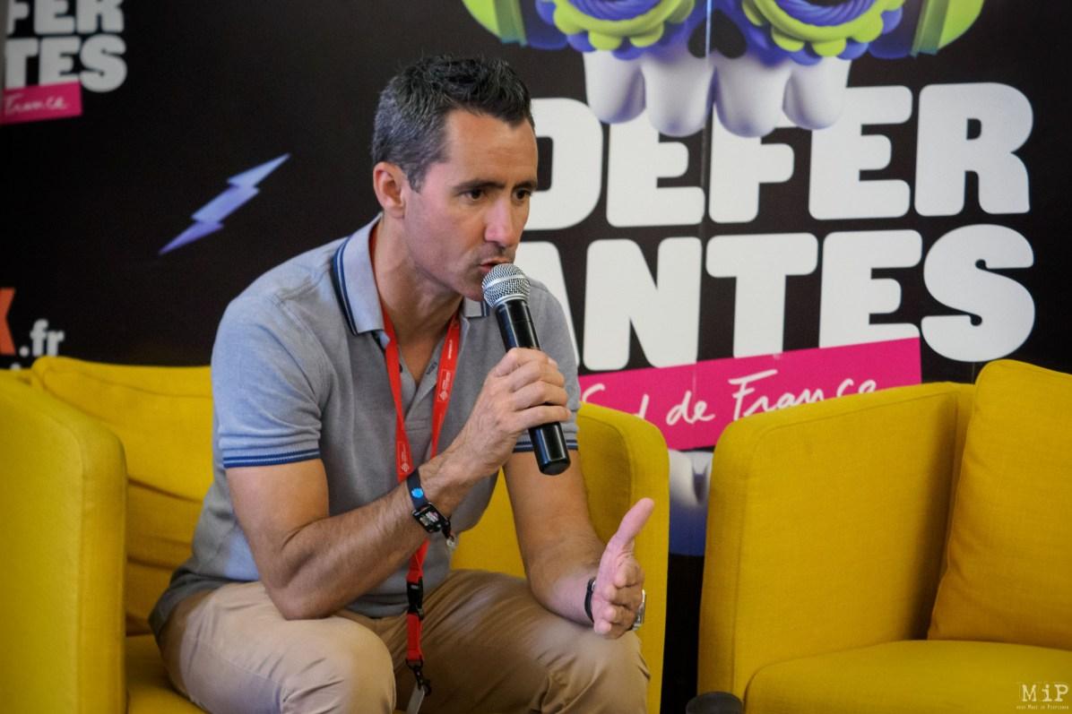 Interviews Festival les Déferlantes 2019 Argelès-sur-Mer Valmy David Garcia