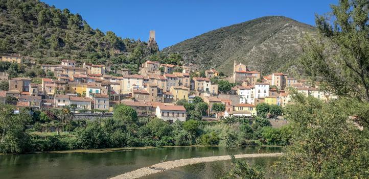 roquebrun-village-herault-vallée-de-lorb