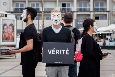 Cube of Truth Anonymous for the Voiceless Canet août 2019