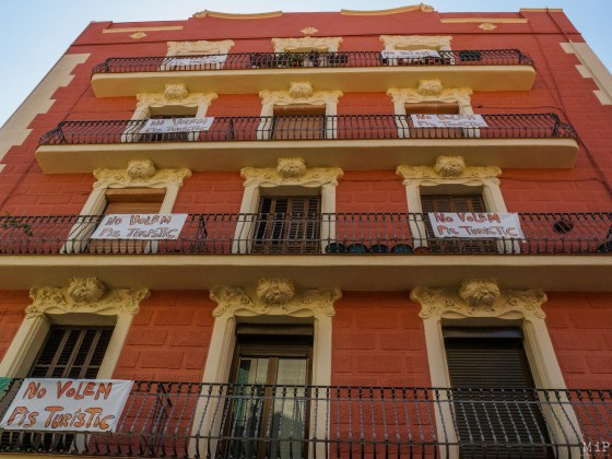 Fronde contre le tourisme de masse à Barcelone