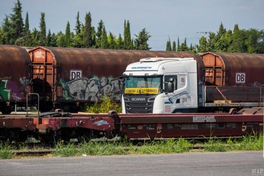 Train Primeurs CGT PCF Fabien Roussel Laurent Brun Jean Luc Gibelin Nicolas Garcia août 2019