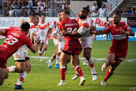 Dragons Catalans vs Hull KR Super League Gilbert Brutus août 2019 Greg Bird Tony Gigot