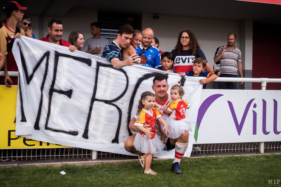 Dragons Catalans vs Hull KR Super League Gilbert Brutus août 2019 Greg Bird