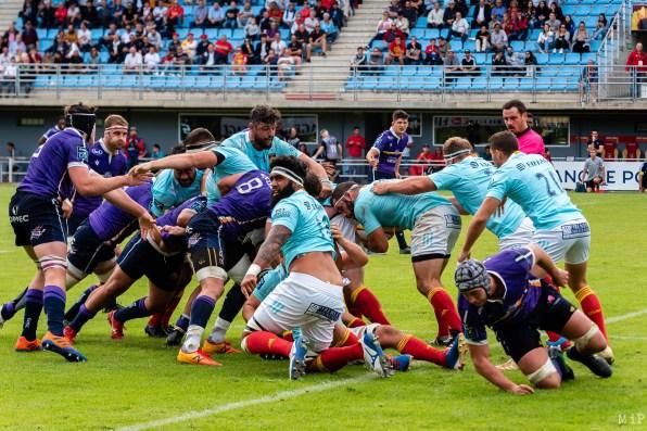 USAP vs Angoulême Saison 2019/20 ProD2 octobre 2019