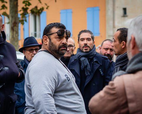 Municipales 2020 - Altercation Gimenez dit Nounours avec Olivier Amiel