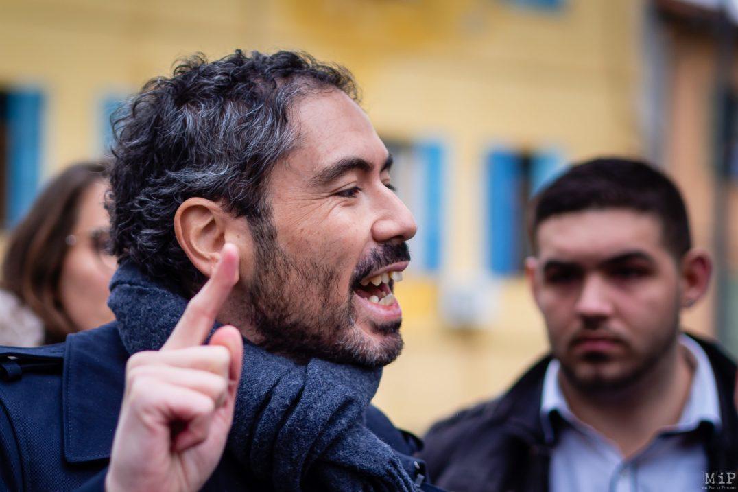 Municipales 2020 - Altercation Gimenez dit Nounours avec Olivier Amiel Saint-Jacques