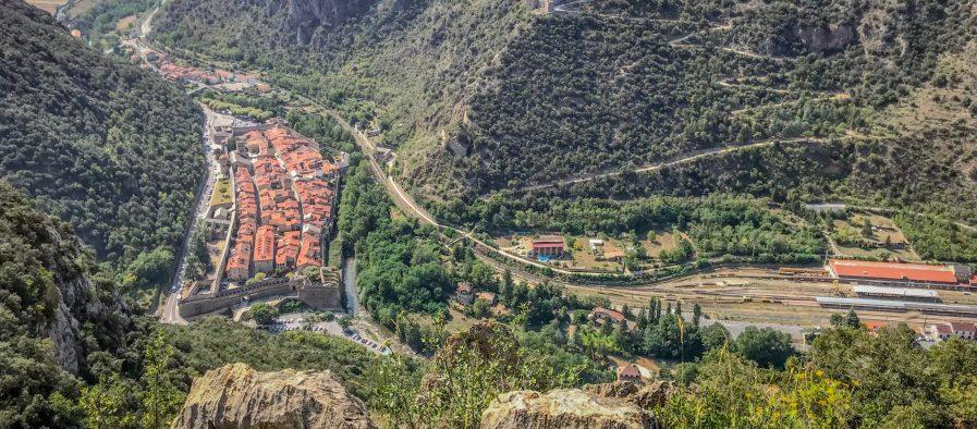 randonnée les ambullas villefranche de conflent panoramas et points de vue des Pyrénées-Orientales