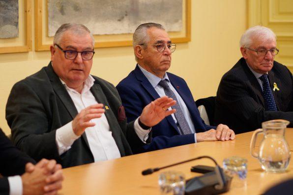 Jean-Marc Pujol et des maires de Pyrénées-Orientales soutiennent Quim Torra-2