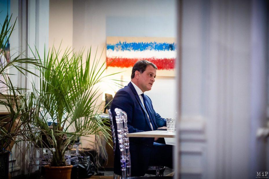 Louis Aliot conférence de presse voeux 2020 campagne municipales perpignan