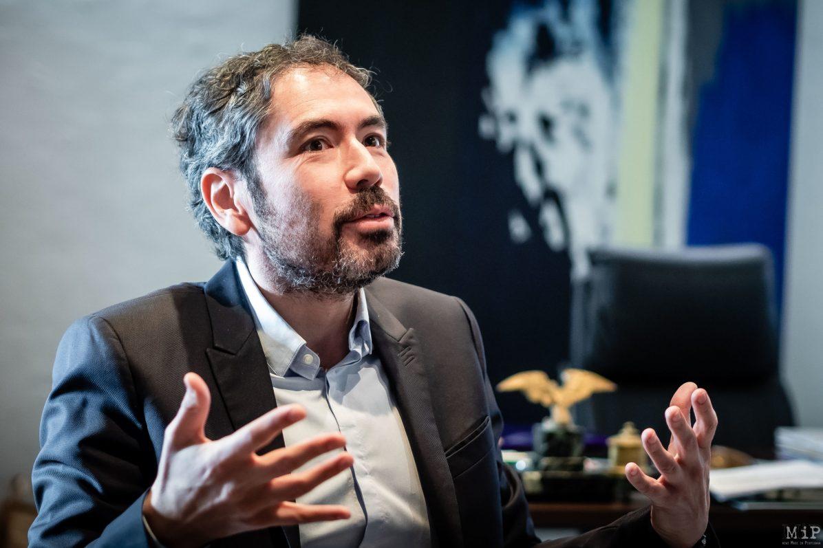 Olivier Amiel interview 2020 campagne municipales Perpignan