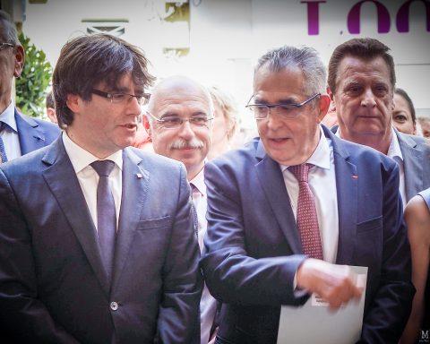 La manifestation catalane de Puigdemont pourrait rassembler à Perpignan entre 50.000 et 100.000 dès le mois prochain avec l'accord de Jean-Marc Pujol.