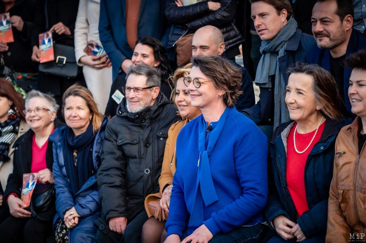 Agnès Langevine annonce liste municipales Perpignan enfin l'écologie passerelle Théâtre de l'Archipel