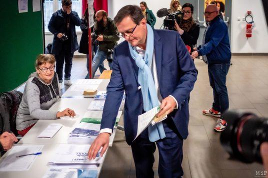 Louis Aliot Elections municipales 1er tour Perpignan