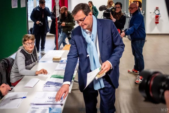 Louis Aliot Elections municipales 1er tour Perpignan