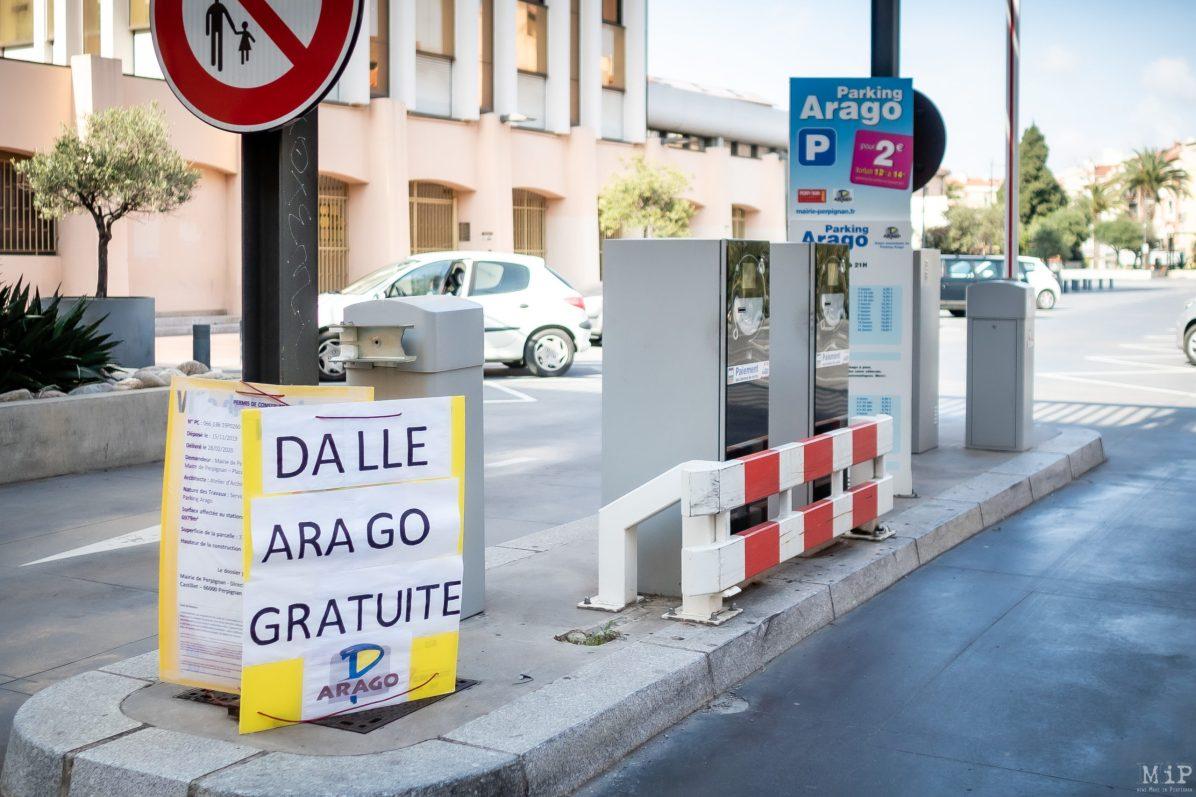 Illustrations Coronavirus Covid-19 Perpignan Parking © Arnaud Le Vu / MiP / APM