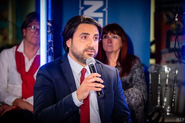Alexandre Bolo Municipales 2020 Perpignan débat L'Indépendant Via Occitanie premier tour © Arnaud Le Vu / MiP / APM