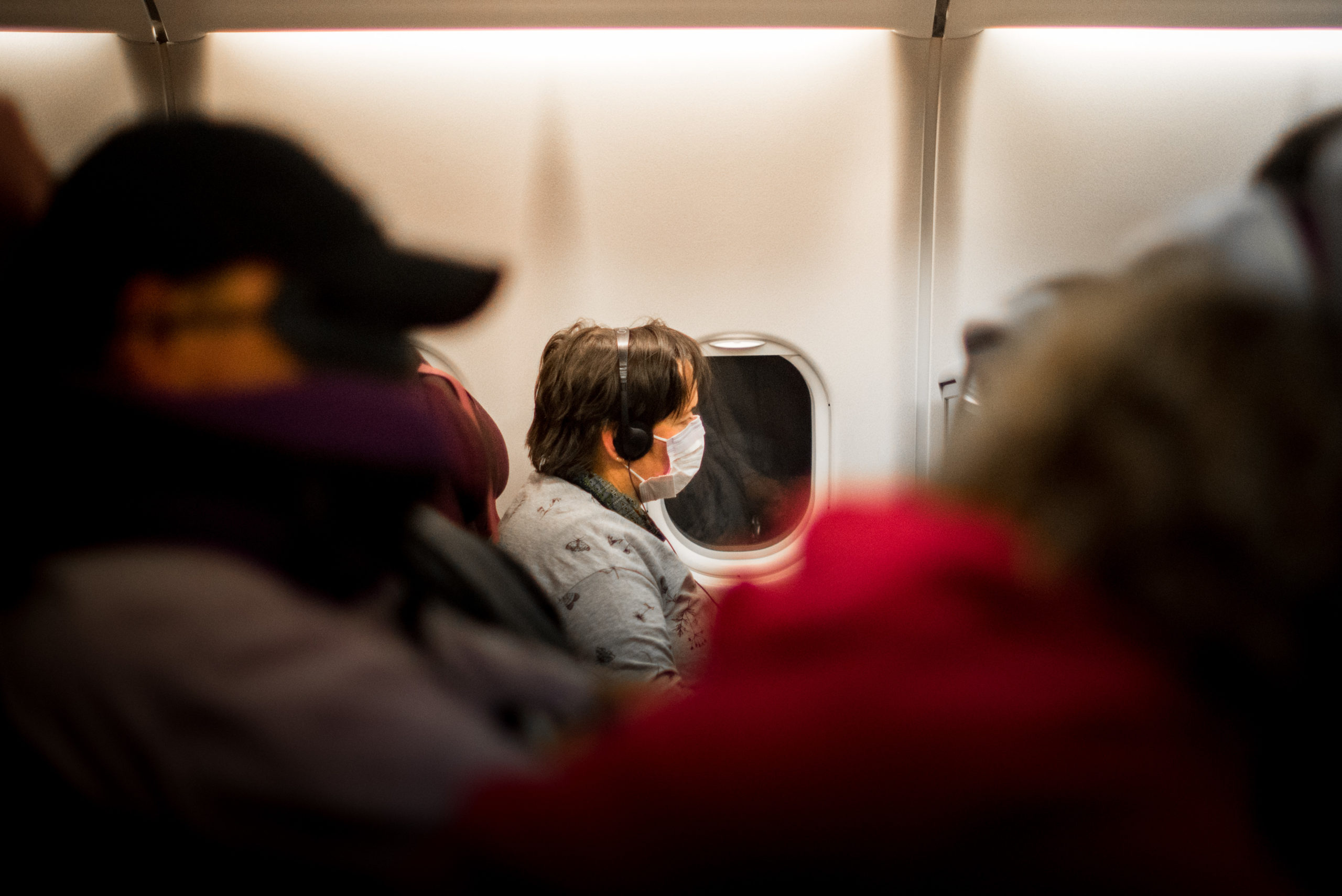 Repatriation - Passenger in the plane Rapatriement - passager dans l avion