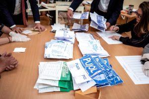 15/03/2020, Perpignan, France, Archives Depouillement Elections municipales soir 1er tour © Arnaud Le Vu / MiP / APM