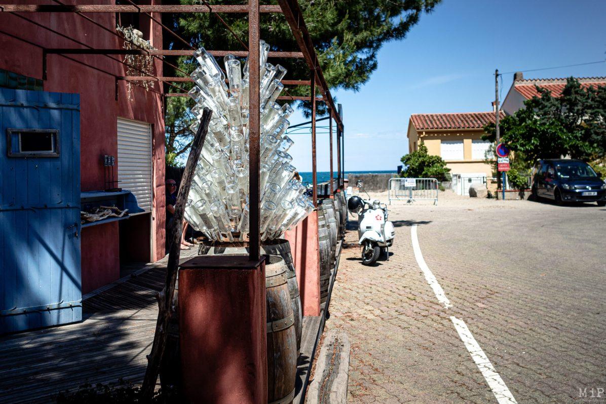 17/05/2020, Argeles-sur-Mer, France, déconfinement littoral plages dynamiques contrôle gendarmerie mesures barrières © Arnaud Le Vu / MiP / APM
