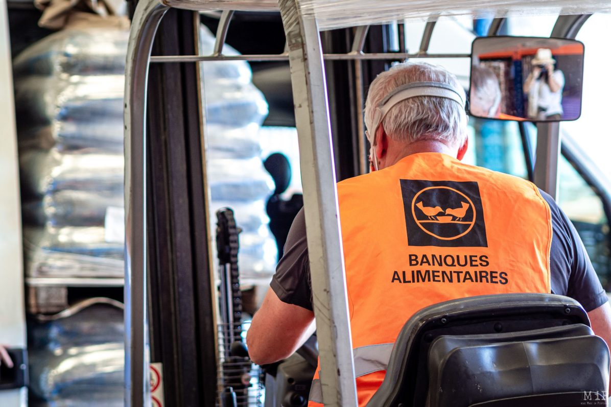 25/05/2020, Perpignan, France, Illustrations banques alimentaires secours populaire © Arnaud Le Vu / MiP