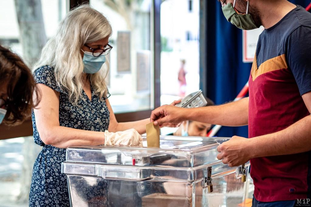 28/06/2020, Perpignan, France, Elections Municipales 2nd tour © Arnaud Le Vu / MiP