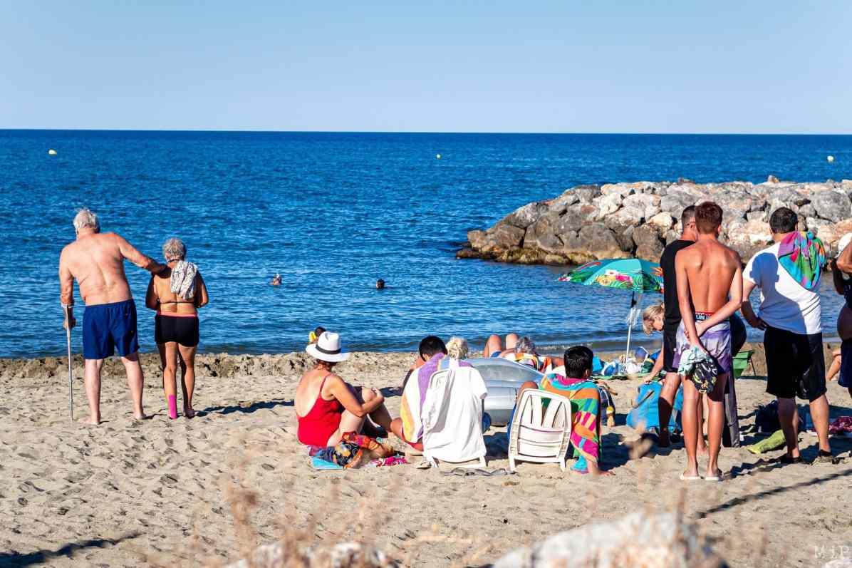 05/08/2020, Sainte Marie la Mer, France, Illustration village littoral Mediterrannee © Arnaud Le Vu / MiP / APM