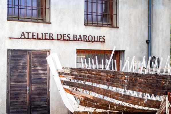 17/08/2020, Paulille, France, littoral des Pyrénées-Orientales pendant les vacances, crique, barque, vignoble © Arnaud Le Vu / MiP
