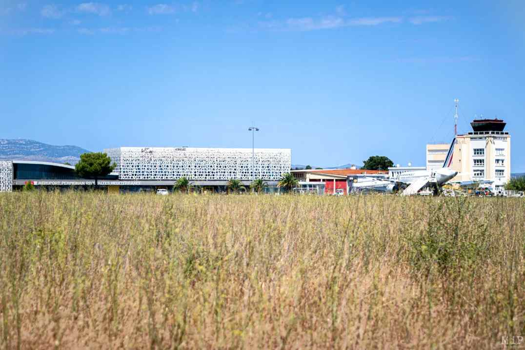 15/08/2020, Rivesaltes, France, Aéroport Perpignan illustration © Arnaud Le Vu / MiP
