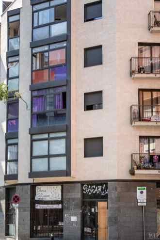 17/04/2017, Barcelona, Spain, appartements © Arnaud Le Vu / MiP