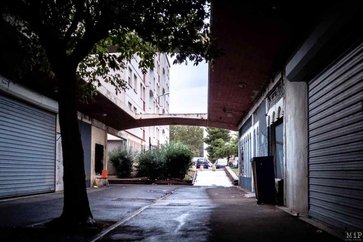 22/09/2020, Perpignan, France, Opération contrôle police stupéfiants cité Champ de Mars