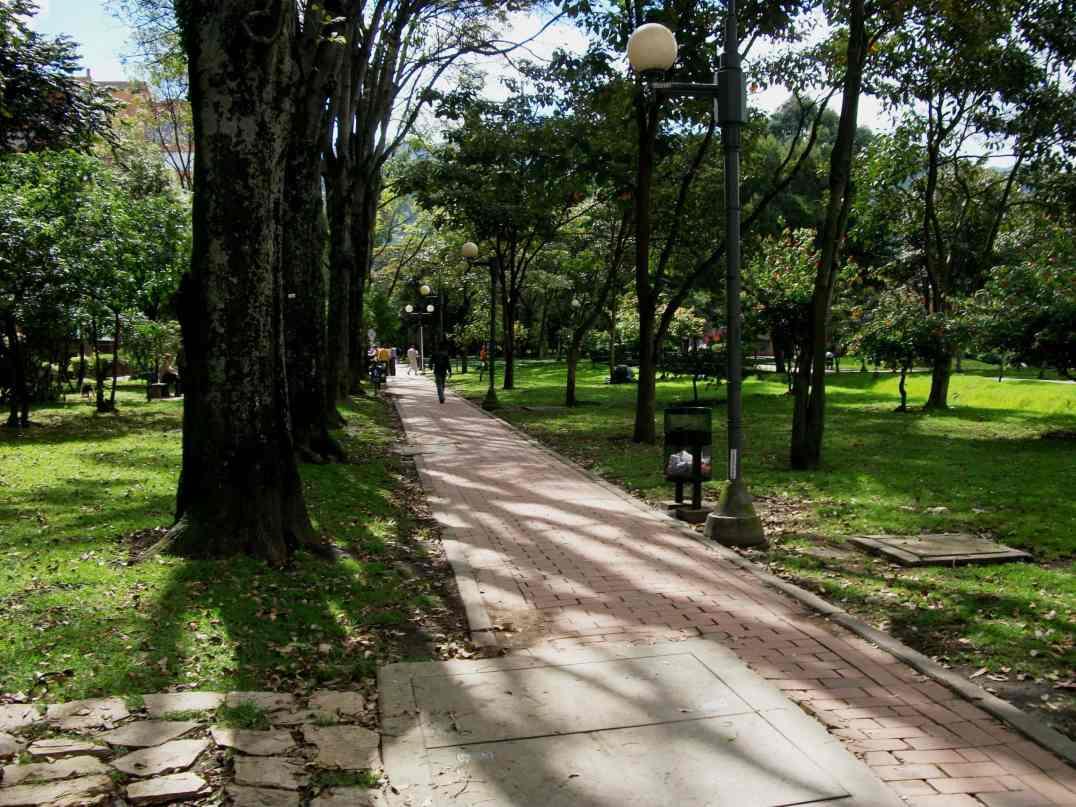 Parc El Virrey © Felipe Restrepo Acosta / Wikipédia