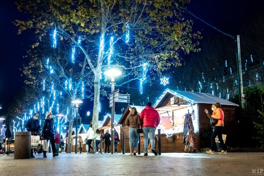 03/12/2020, Perpignan, France, Illumination décoration manège de Noël © Arnaud Le Vu / MiP