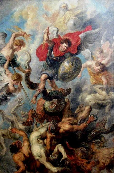 Guerre des anges © Pierre Paul Rubens