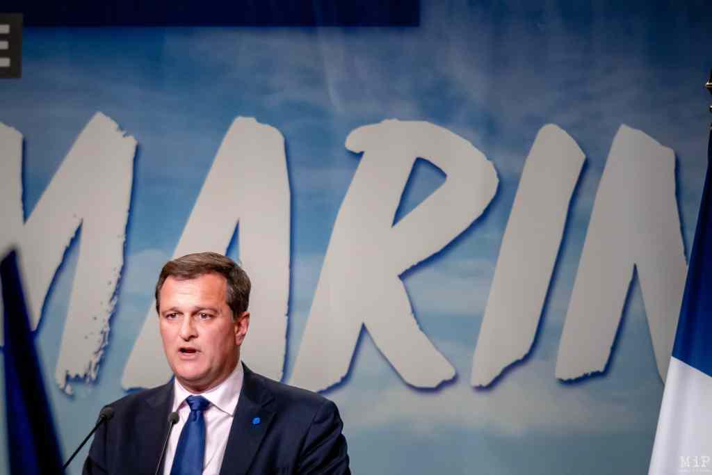 15/04/2017, Perpignan, France, Archives Marine Le Pen, Robert Menard, Louis Aliot, meeting presidentielles 2017© Arnaud Le Vu / MiP