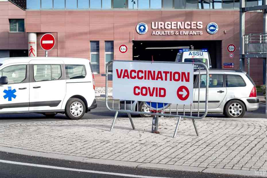 19/01/2021, Perpignan, France, Centre vaccinal © Arnaud Le Vu / MiP