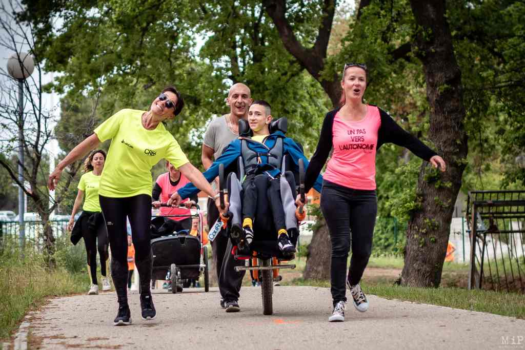 Run My UPVD, course handi-valide à l'Université de Perpignan avril 2019