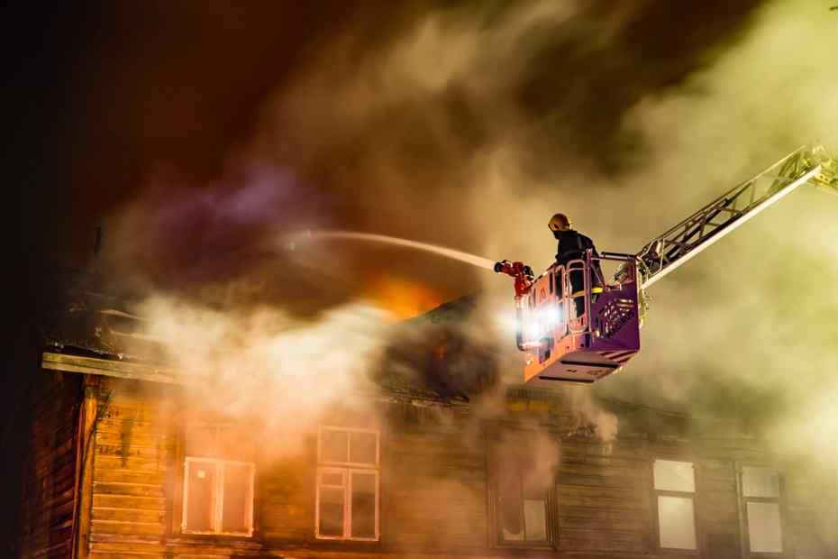 feu incendie maison